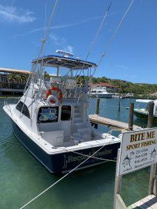 BITE ME Sport Fishing Boat, 'Record Breaker'
