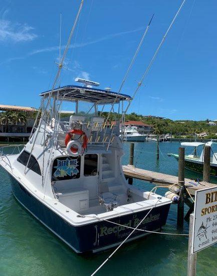BITE ME Sport Fishing Turks and Caicos Record Breaker - 006